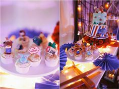 Liam's Vintage Plane Themed Party – Sweets