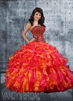 Ball Gown Strapless Neckline Floor length Sleeveless Organza Quinceanera Dress with Beading (SAS442)
