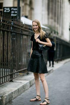 Street fashion: haute couture jesień-zima 2015/2016, fot. Imaxtree