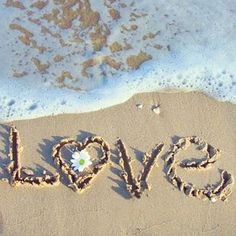Heart in the sand foamy waves beach love I Love The Beach, All You Need Is Love, Summer Of Love, My Love, Summer Beach, Beach Fun, Beach Ideas, Pink Summer, Beach Quotes