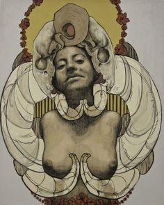 Irving Herrera artwork. Oaxaca, MX
