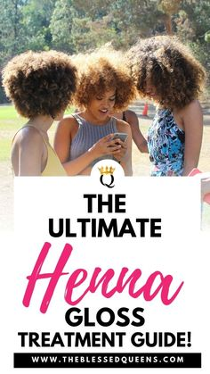 The Ultimate Henna Gloss Treatment Guide - The Blessed Queens Kinky Twist Styles, African Hairstyles, Black Hairstyles, 1950s Hairstyles, Natural Afro Hairstyles, Dreadlock Hairstyles, Hairdos
