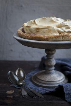 Rhubarb pie. Made with love.