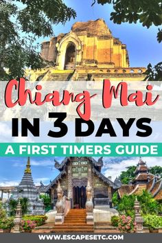 What to do in Chiang Mai in 3 days and my MEGA guide to visiting! | Escapes Etc |