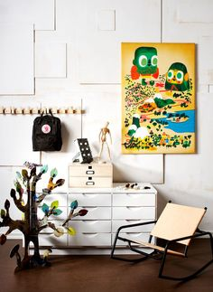Kids room |Scandinavian Deko