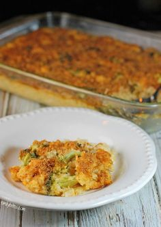 Cheesy Chicken Broccoli & Rice Casserole 7b