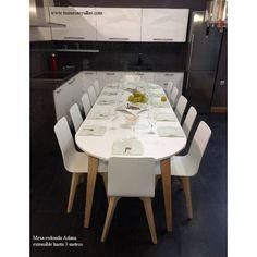 Las 12 mejores imágenes de mesas redondas comedor extensibles ...