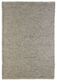 Colours Claudine Grey Thick Knit Rug L 1 7m W 2m