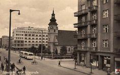 Kościół NMP Królowej Polski (kolegiata gdyńska), Gdynia - 1943 rok, stare zdjęcia
