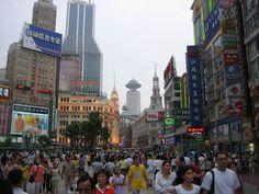 Nanjing Road, Shanghai.