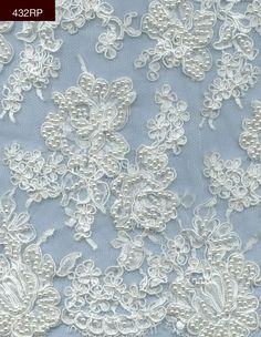 "432RP - 36"" Galloon Lace $279.95/yd or $220.50/strip"
