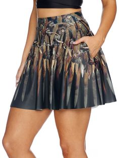 Thrones Pocket Skater Skirt - LIMITED (AU $75AUD) by Black Milk Clothing