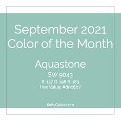 September 2021 Color of the Month & Energy Reading. What to do with August's expanded energy and Staying Power? Rev It Up!