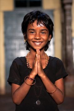 India, Kathleen Degiorgio, What a lovely smile !