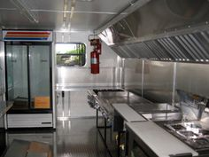 Catering Trailer kitchen