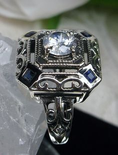 Wholesale Antique & Vintage Reproductions, Pearl, Sterling Silver & Gold Filigree Gemstone Jewelry: Rings, Earrings, Pendants/Necklaces, Bracelets. Victorian, Edwardian, Gothic/Renaissance, Art Deco, Art Nouveau, Vintage, and New Inspirations... http://stores.ebay.com/SilverFiligreeJewelry?_rdc=1