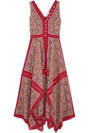 AltuzarraClemmie paisley-print silk maxi dress