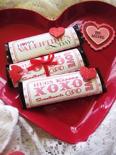 Valentine Candy Bar Wrappers