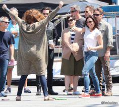 "Colin O'Donoghue, Ginnifer Goodwin, Josh Dallas, Lana Parilla, Emilie De Ravin, Rebecca Mader and Sean Maguire - Behind the scenes - 5 * 1 ""Dark Swan"" 17 July 2015"