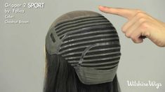 GRIPPER 2 Sport and Cool by Follea for women dealing with hair loss or total baldness.