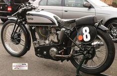 RacingVincent - My Bikes - Picture Gallery Norton Motorcycle, Motorcycle Engine, British Motorcycles, Cars And Motorcycles, Norton Manx, Motorcycle Manufacturers, Vintage Bikes, Garden Gate, Gallery