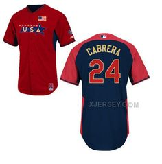 http://www.xjersey.com/usa-24-cabrera-red-2014-future-stars-bp-jerseys.html USA 24 CABRERA RED 2014 FUTURE STARS BP JERSEYS Only $36.00 , Free Shipping!