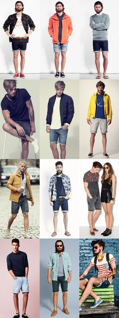 Call them hipster, call them what you will -- we stand behind the men's denim short. And with spring right around the corner, there's no easier way to welcome in warmer weather in style. Check out some recommendations for rocking this look -- any favorite Stitch's transforming into cutoffs this season?