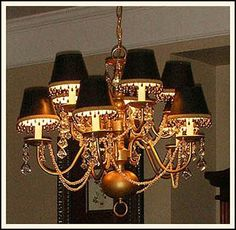 The Stylish House: Chandelier Makeover Instructions!