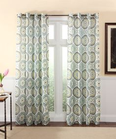 Look what I found on #zulily! Spa Melina Curtain Panel #zulilyfinds