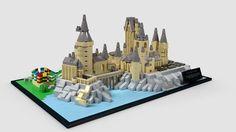 LEGO Ideas - Hogwarts Castle Microscale