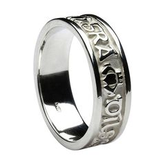 Greek Key Tungsten Amp Sterling Silver Ring For The Groom