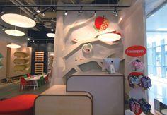 apple & pie children shoe boutique by Stefano Tordiglione Design, Hong Kong store design
