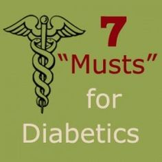 Interesting page about what diabetics should be doing.  Would be good for those with diabetes to read.