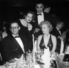 """Marilyn Monroe Video Archives — Marilyn Monroe and Arthur Miller at the""""Baby..."""