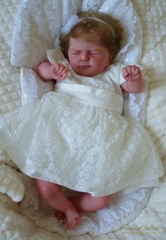 EVELINE: Ellis - Olga Auer: Dolls as Live Made with Love SUNSHINE BABIES Reborn dolls Girls Dresses, Flower Girl Dresses, Reborn Dolls, Sunshine, Babies, Live, Gallery, Wedding Dresses, Bridal Dresses