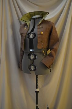 A 'steampunk' jacket that I made for Dorothy as a 'Wild Wild Wizard of Oz' costume.