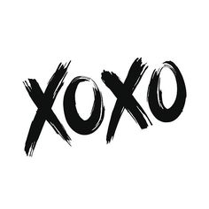 XOXO (hugs and kisses) vectorkunst illustratie Photo Wall Collage, Picture Wall, 21 Tattoo, Practicing Self Love, Graffiti Words, Motivational Cards, Black And White Photo Wall, Image Citation, Foto Poster