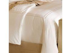 Resort Embroidered Stripe Duvet Cover