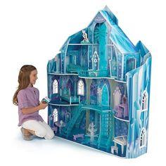Dollhouses - KidKraft Disney Frozen Snowflake Mansion Dollhouse -- Click image for more details.