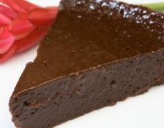 Living Without - Gluten-Free Flourless Chocolate Cake - Recipes Article