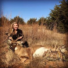 It's whitetail month at Prois and the Prois ladies are getting it done!! Congratulations to Prois Staffer, Melissa Barnes-Teel on harvesting this beautiful buck! #prois #proisproud www.proishunting.com