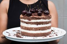 Black forest celebration cake recipe, Bite – This cake has a flavour combination that almost everyone loves ampmdash I have served it at kidsamprsquo birthday parties and at weddings For this version I have used cherries but as weamprsquore at the very tail end of the season you might like to use another seasonal fruit or even leave the fruit out altogether If you can get hold of freeze dried cherries or raspberries they make a lovely addition to the vanilla cream layersThis recipe requires…