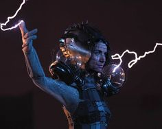 faraday cage dress shows how to get fashionably struck by lightning