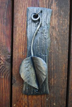 LARGE LEAF DOOR KNOCKER!                                                       …