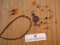 http://creatrice-bijoux.blogspot.fr ✿ MES CREATIONS DE BIJOUX ✿ ✿ Voici mes créations de bijoux en loisirs créatifs. Esprit recyclage en reprenant des perles et accessoires sur d'anciens bijoux fantaisie trouvés dans des vides greniers. Collection de perles et bijoux réalisés à la maison, de toutes sortes et coloris. ❤️ naviginternet@orange.fr ❤️ necklaces, jewelery, pearls... DIY HOMEMADE jewelry