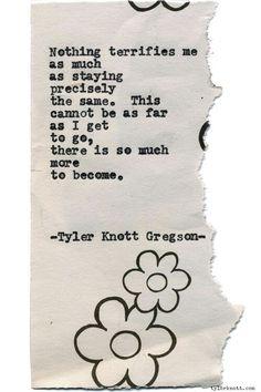 1401 - Tyler Knott Gregson