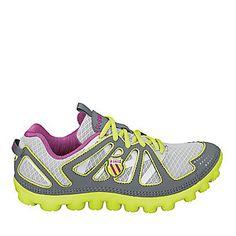 """K-Swiss """"Cali-Mari II"""" Running Shoes in Gray/Yellow"""