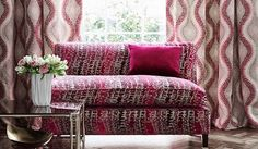 James Hare -  Carnaby Velvet Fabric Collection