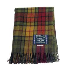 Autumn Buchanan Tartan Wool Rug