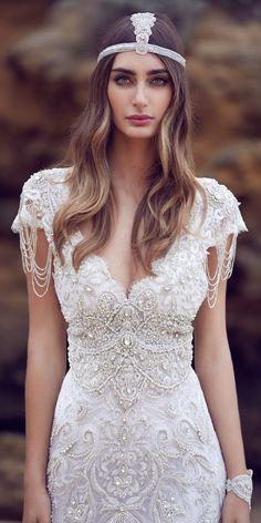 Designer Highlight: Anna Campbell Wedding Dresses ❤ See more: http://www.weddingforward.com/anna-campbell-wedding-dresses/ #weddingforward #bride #bridal #wedding